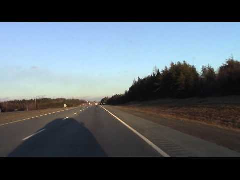 Trans-Canada Highway - Moncton, New Brunswick to Stewiacke, Nova Scotia