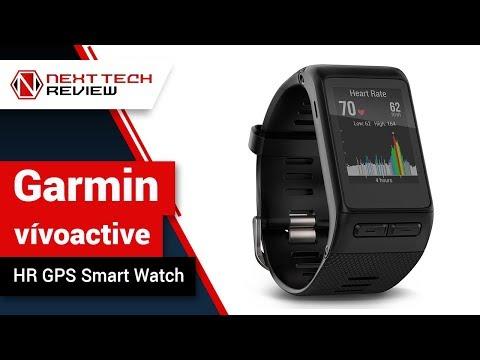 Garmin vívoactive HR GPS Smart Watch, Regular fit Product Review  – NTR