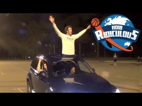 Epic Trick Shot Battle - How Ridiculous vs Brodie Smith