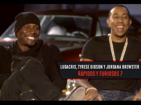 Entrevista Con Ludacris, Tyrese Gibson Y Jordana Brewster Por Rápido Y Furioso 7 video