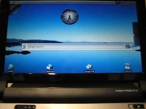 Acer Aspire One D250 Dualboot Android / Windows XP