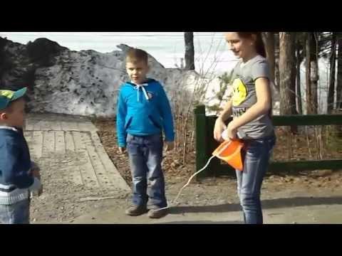 Подвижные игры с детьми на улице
