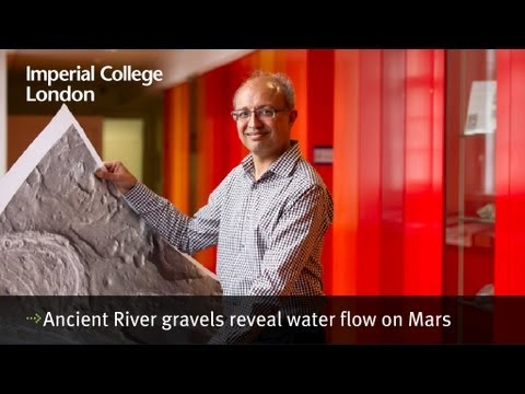 Ancient River gravels reveal water flow on Mars