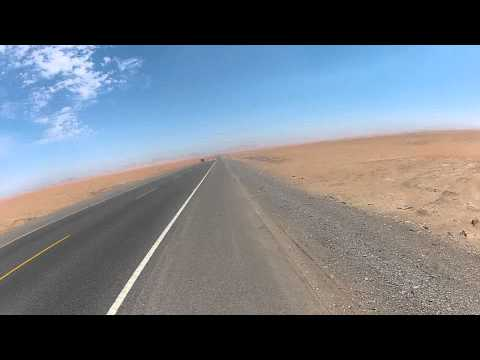 Sechura Desert, Peru. Cycling South America. Fatih Aksoy