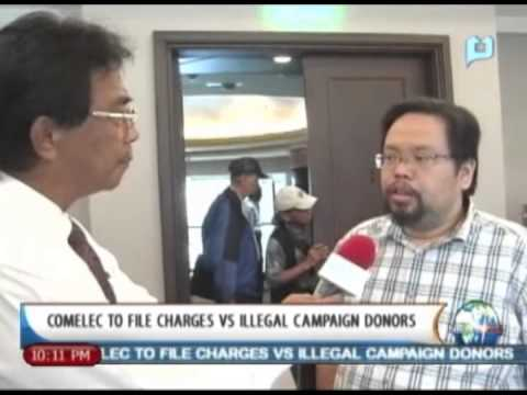 NewsLife: COMELEC to file charges vs. illegal campaign donors || October 7, 2013