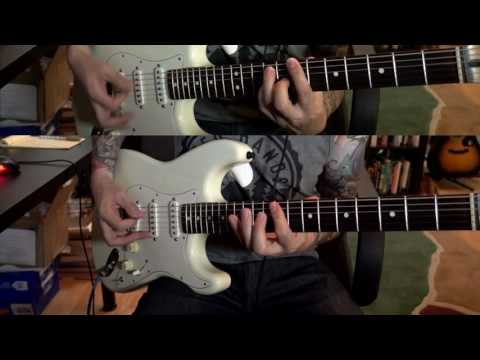 The Beatles - Day Tripper - Dual Guitar Cover - w Guitar Solo