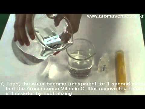 Kntecaroma sense vitamin c shower head filter removes chlorine from