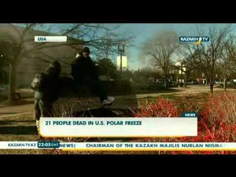 21 people dead in U.S. polar freeze