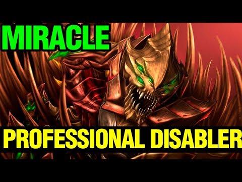 Professional Disabler - Sand King Miracle - Dota Plus - Dota 2