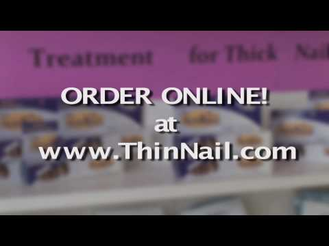 ThinNail Treatment for Thick Nails