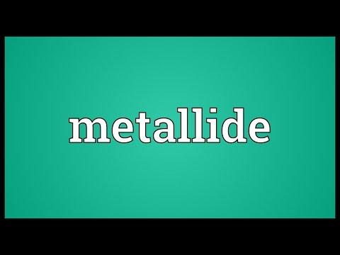 Header of metallide