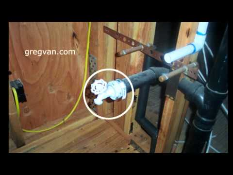 0 Plumbing Waste Water Testing Valve   Home Building