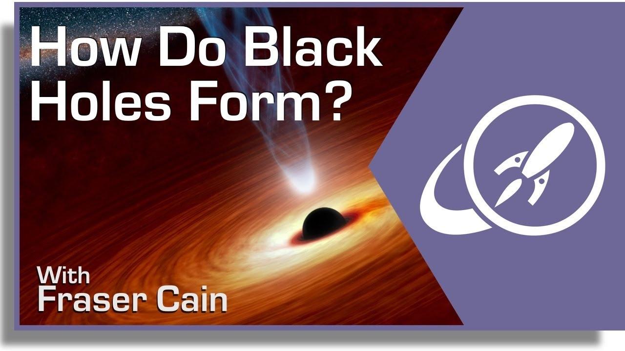 How Do Black Holes Form For Kids