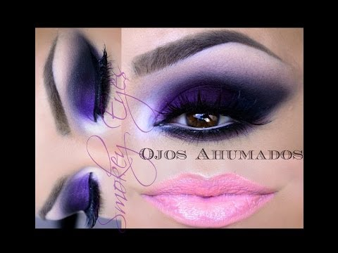 Ojos Ahumados Economico / Smokey eye (ENGLISH SUBTITLES)