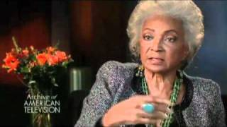 Nichelle Nichols discusses
