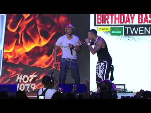 Ludacris Brings Out Mystikal At HOT 107.9's Birthday Bash