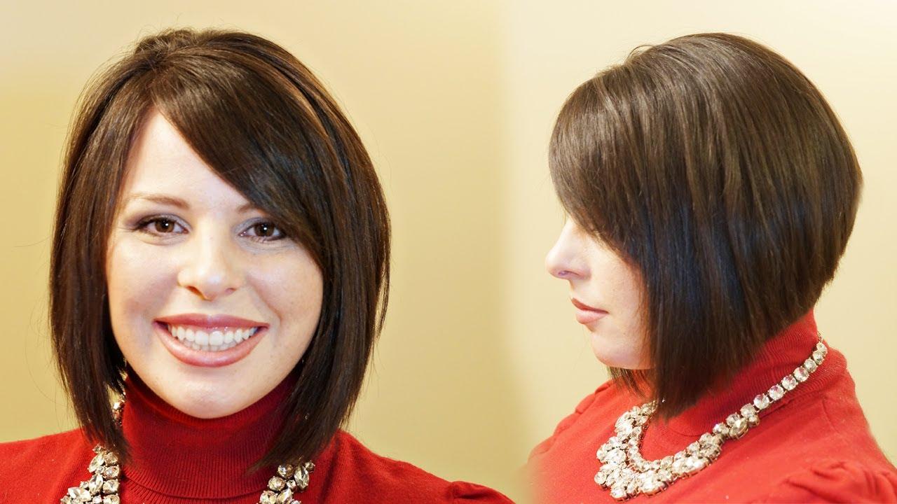 Face slimming haircuts