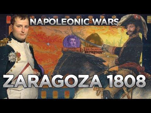 Napoleonic Wars: Siege of Zaragoza (1808) - Peninsular War DOCUMENTARY
