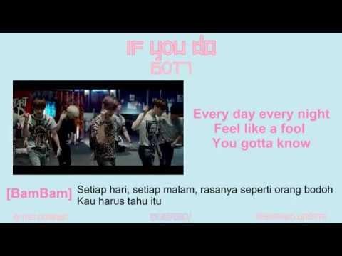 GOT7 - IF YOU DO  [MV EASY LYRIC INDONESIA]