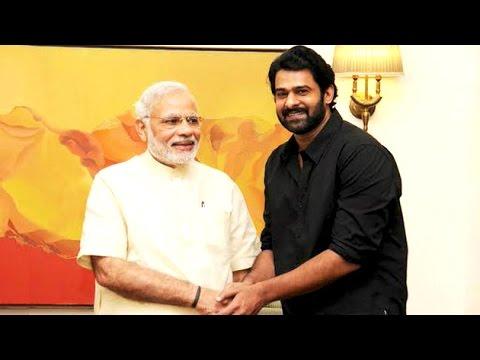'Baahubali' Actor Prabhas Meets PM Modi    | Lehren Telugu Photo Image Pic