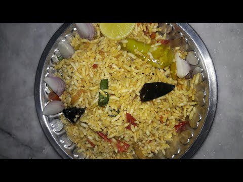 How to make uggani recipe//mara marala upma in telugu..