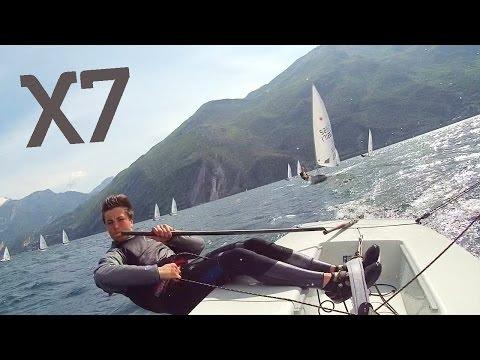 ACTIONPRO X7 - Laser Sailing Lake Garda | Wecamz