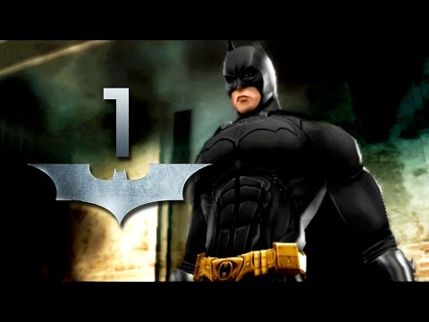 Road to Arkham Knight - Batman Begins - The League of Shadows - Gameplay Walkthrough Part 1