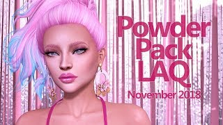 Powder Pack LAQ November 2018 - Unboxing Video - Second Life Subscription Box
