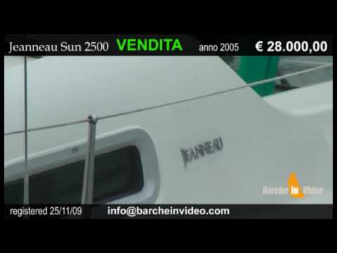 Watch Jeanneau Sun 2500 USATO in VENDITA su Barcheinvideo - for-sale
