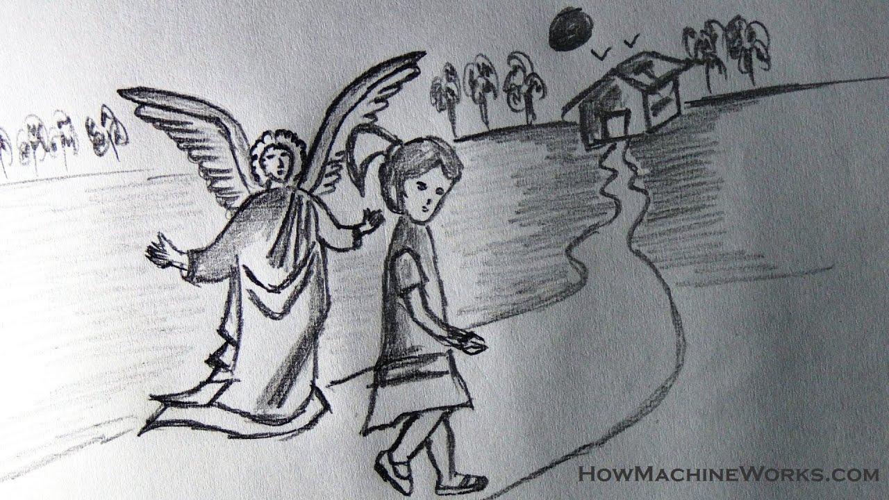 guardian angels drawings