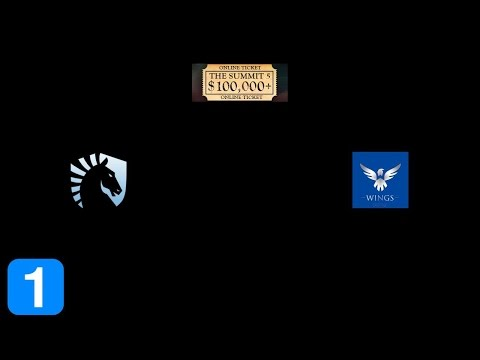Full Highlights Team Liquid vs the wings gaming - The Summit 5