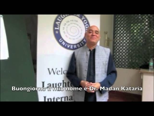 Esperienza Indiana 2012 Laura Toffolo e il Dr. Madan Kataria