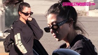 Kourtney Kardashian Stops For A Snack With Friends At Backyard Bowls In West Hollywood 11.12.18