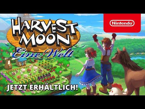 Jetzt erhältlich – Harvest Moon: Eine Welt (Nintendo Switch)