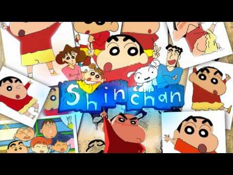 Shin Chan Theme Song Intro Dutch HQ with Lyrics