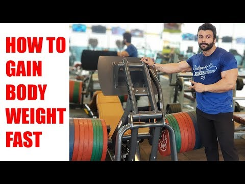 HOW TO GAIN BODY WEIGHT FAST | AMIT PANGHAL | PANGHAL FITNESS