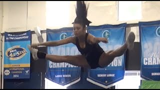 Cheer Tryout DAY Cheer Extreme 2014