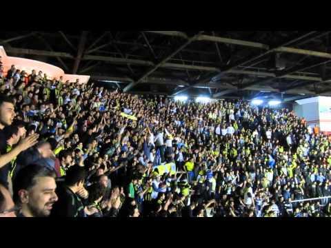 GFB burada dimdik ayakta - Abilerin abisi Sefa tezahüratı / Efes - Fenerbahçe Euroleague maçı