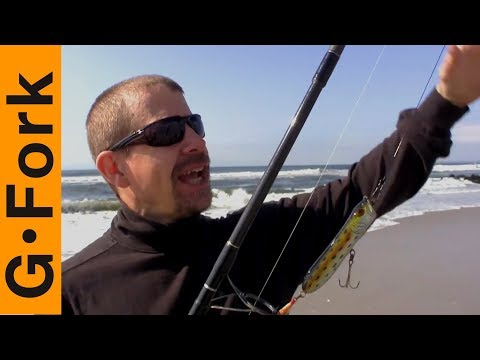 Surfcasting Saltwater Fishing How To : GardenFork.TV