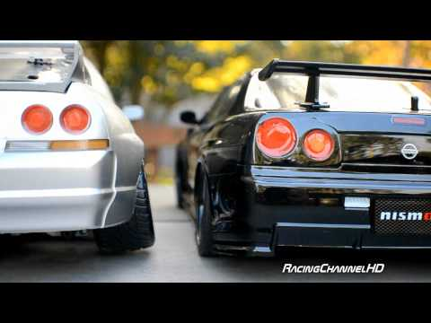 tamiya nismo GTR Skyline rare Collection R32 R33 R34 and R35 RC 1/10 scale TA02 TT01 vintage