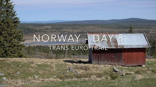 Trans Euro Trail - Norway - Day 8
