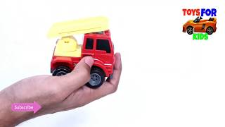 Truck Review 2 ! Top Funny Finger Family Nursery Rhymes ! Best 4k 2019 Truck Toys for kids videos