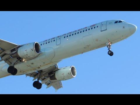 Air Canada Airbus A321-211 [C-GJWN] landing in LAX