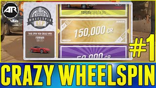 Forza Horizon 3 Let's Play : CRAZY WHEELSPIN!!! (Part 1)