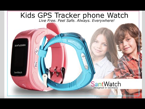 Santwatch : Smart Parenting, Kids GPS tracker
