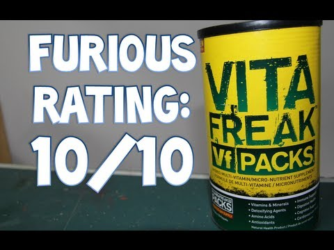 PharmaFreak VITA-FREAK Multivitamin Supplement Review - 10/10