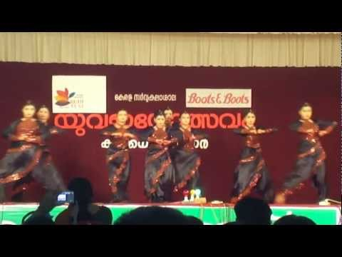Kerala University Youth Festival 2012-team M-cet 720phd video