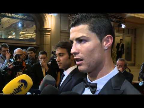 Weltfußballer Cristiano Ronaldo genießt