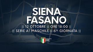 Serie A1M [6^]: Siena - Fasano 37-30