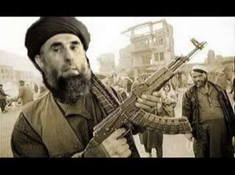 Afghanistan - Song for Pashtun Hekmatyar - destroyed Kabul